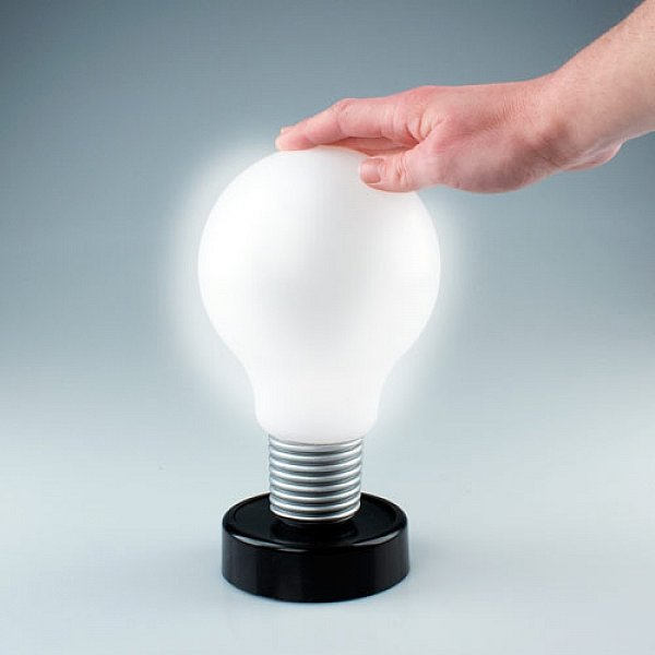 dr ck mich gl hbirne led lampe nachtlicht nachtlampe. Black Bedroom Furniture Sets. Home Design Ideas