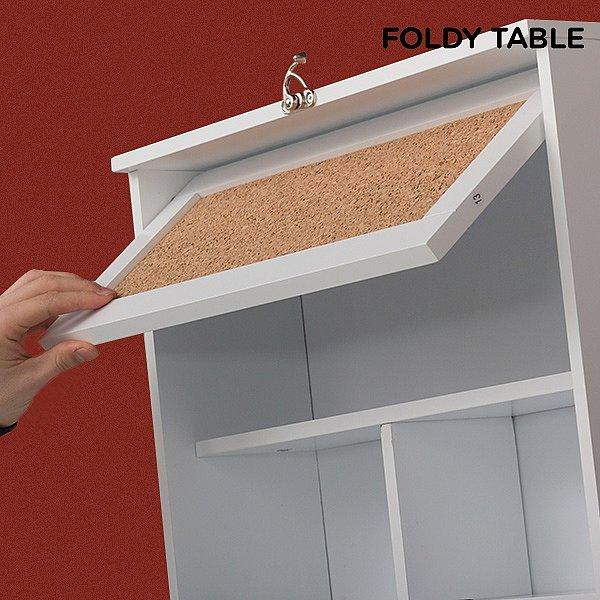 Küchentisch Klappbar: Wandklapptisch Küchentisch Esstisch Klapptisch Regal Tisch