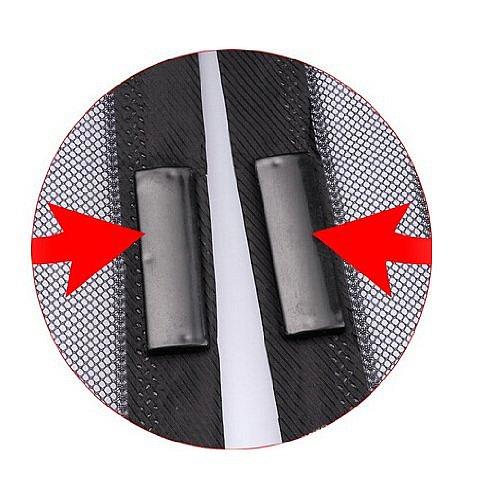 magic mesh fliegengitter 18 magnete fliegen vorhang f r t r balkon terrasse netz ebay. Black Bedroom Furniture Sets. Home Design Ideas
