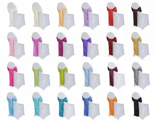 schleifenband schleifenb nder stuhlschleifen schleifen f r stuhlhussen hochzeit ebay. Black Bedroom Furniture Sets. Home Design Ideas