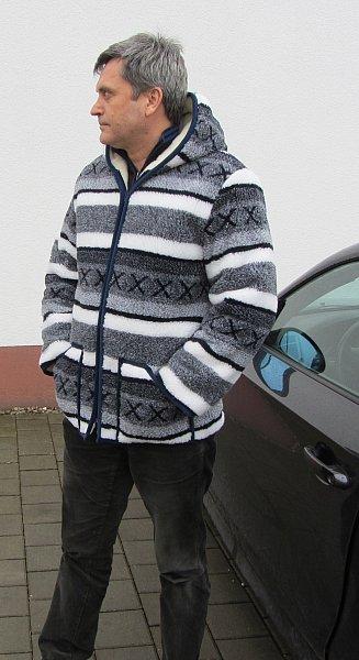 winter jacke doppelt skandinavien aus 100 wolle made in. Black Bedroom Furniture Sets. Home Design Ideas