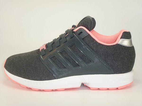 adidas zx flux rosa grau
