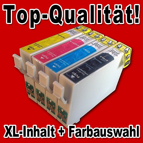 Multipack: 30 kompatible Patronen für Epson T1281-T1284