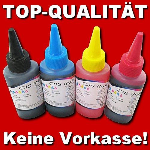 Refill-Set: 1500ml Tinte für Epson + 100ml Reiniger + 4 Spritzen