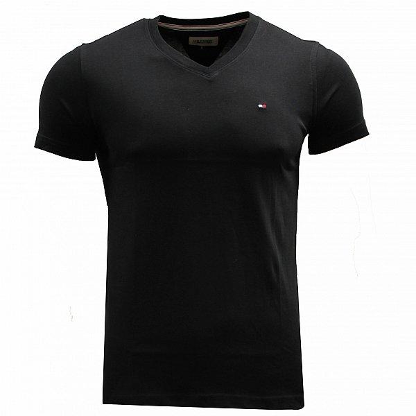tommy hilfiger denim t shirt v ausschnitt pullover gr s. Black Bedroom Furniture Sets. Home Design Ideas