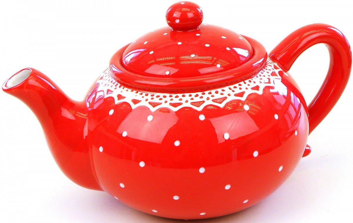keramik teekanne dose set rot weiss teedose kaffeedose vorratsdose kanne ebay. Black Bedroom Furniture Sets. Home Design Ideas