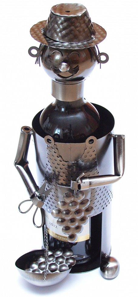 porte bouteille de vin range bouteilles en m tal cueilleurs porte bouteilles ebay. Black Bedroom Furniture Sets. Home Design Ideas