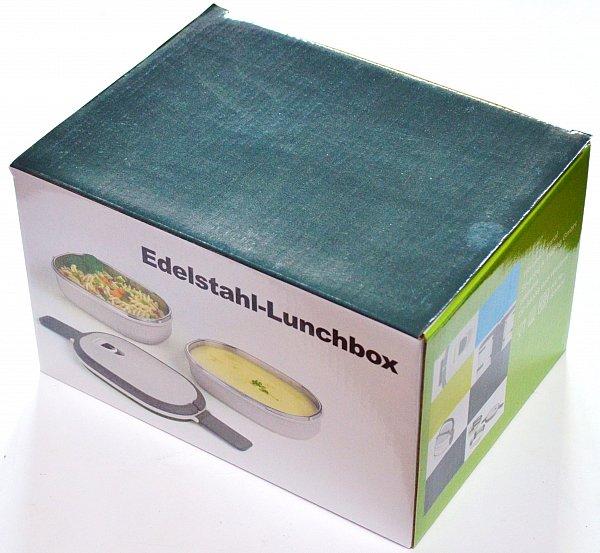 edelstahl lunchbox 1 48 liter brotzeitdose henkelmann vesperdose vorratsdose ebay. Black Bedroom Furniture Sets. Home Design Ideas