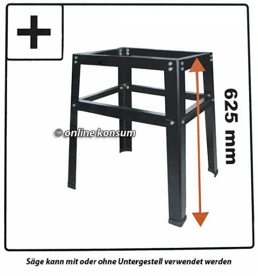 zug kapp und gehrungss ge zugs ge kapps ge untergestell 350mm 2400 w kreiss ge ebay. Black Bedroom Furniture Sets. Home Design Ideas