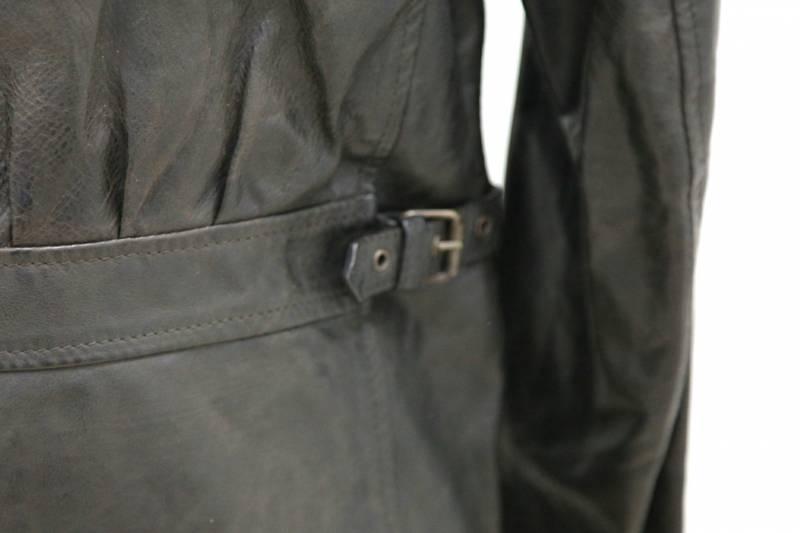 belstaff herren leder jacke leather jacket gr l 50. Black Bedroom Furniture Sets. Home Design Ideas