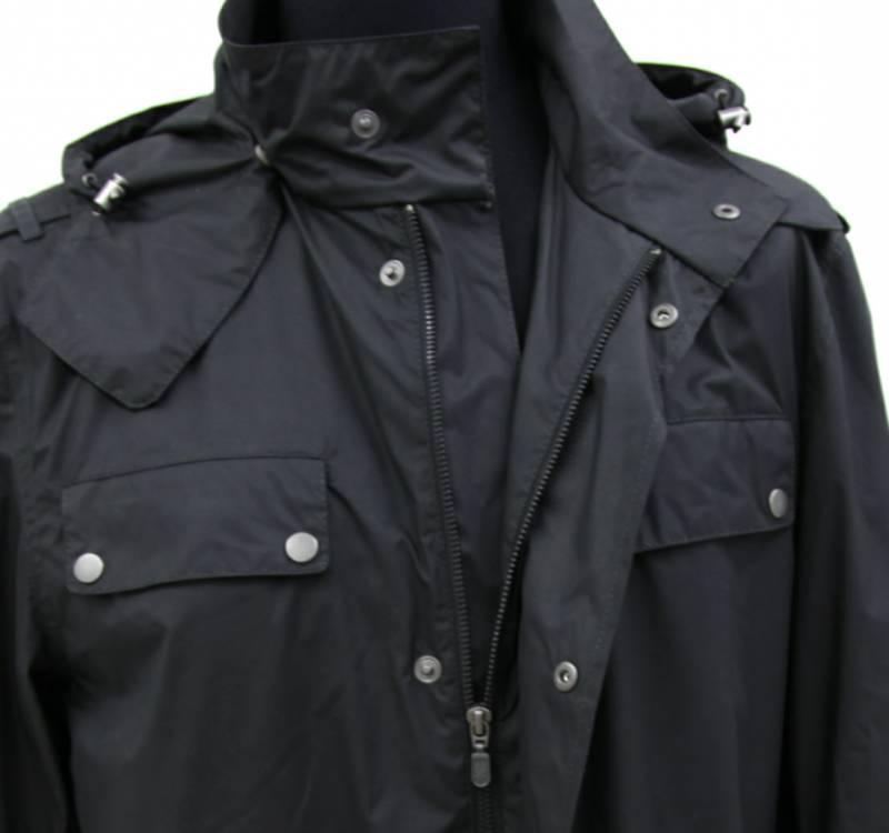 belstaff herren jacke jacket gr l 50 president parka man gold label mit leder ebay. Black Bedroom Furniture Sets. Home Design Ideas