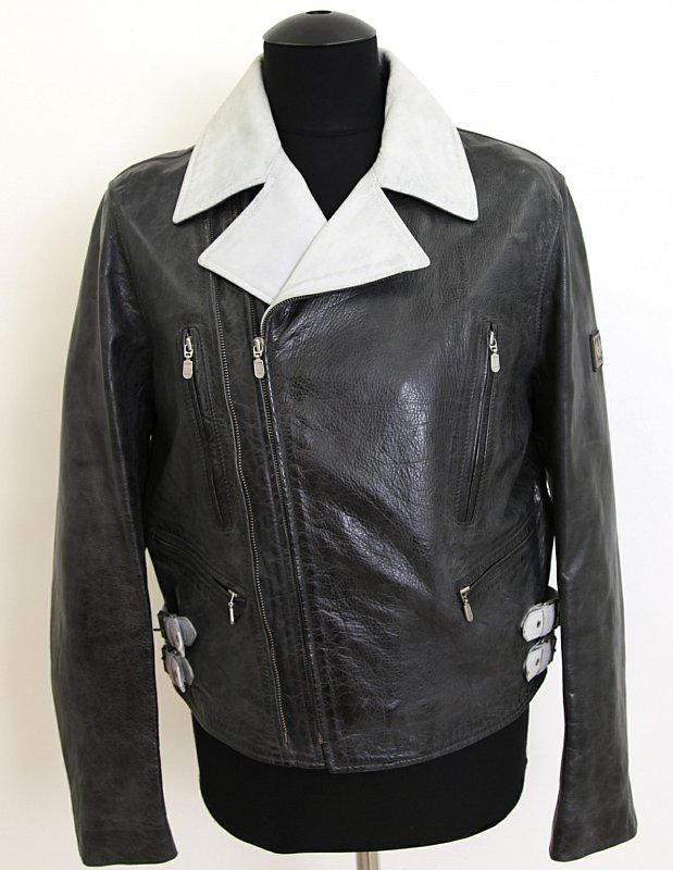 belstaff herren lederjacke leder jacke jacket l 50. Black Bedroom Furniture Sets. Home Design Ideas