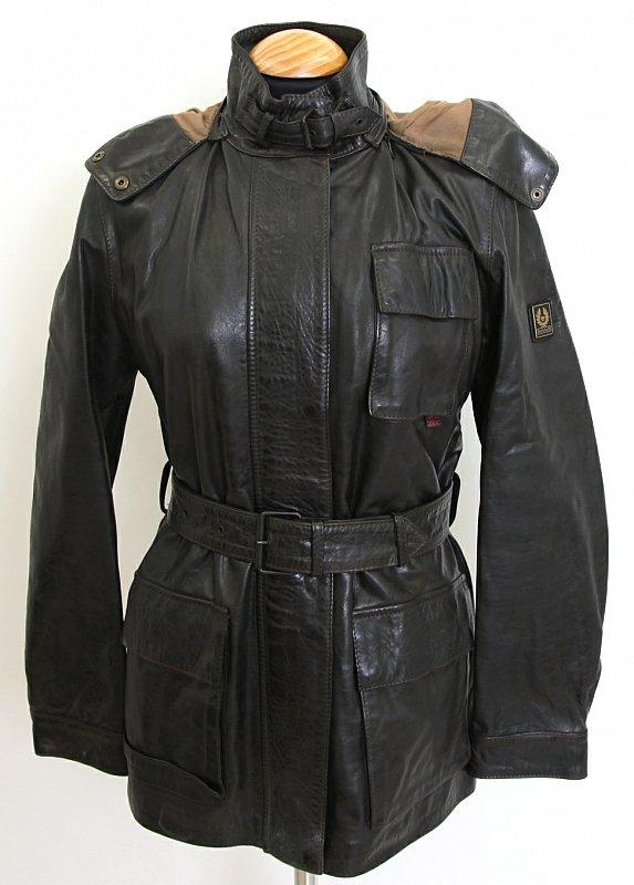 belstaff damen lederjacke jacke 36 s new tiger jacket lady 723571 leather ebay. Black Bedroom Furniture Sets. Home Design Ideas