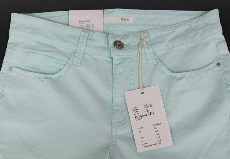 mac jeans damen hose 7 8 women pants gr e 36 l26 angela. Black Bedroom Furniture Sets. Home Design Ideas
