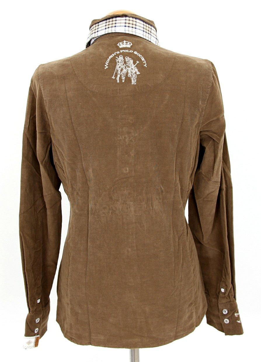 l 39 argentina damen kord bluse shirt polo gr 38 m. Black Bedroom Furniture Sets. Home Design Ideas