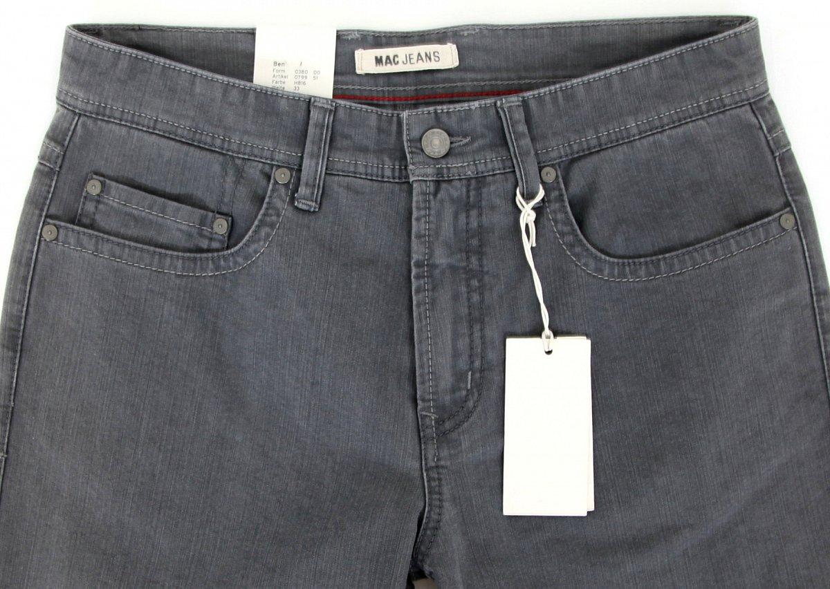 mac jeans herren hose men pants ben regular fit w33 l34 h816 079951 neu new ebay. Black Bedroom Furniture Sets. Home Design Ideas