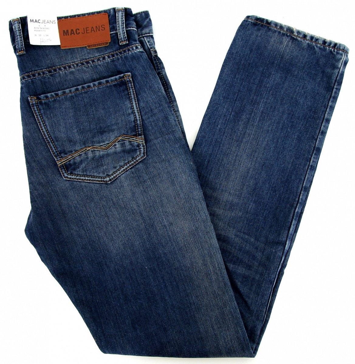 mac jeans selected herren hose men pants arne modern fit w33 l34 h654 091751 neu ebay. Black Bedroom Furniture Sets. Home Design Ideas