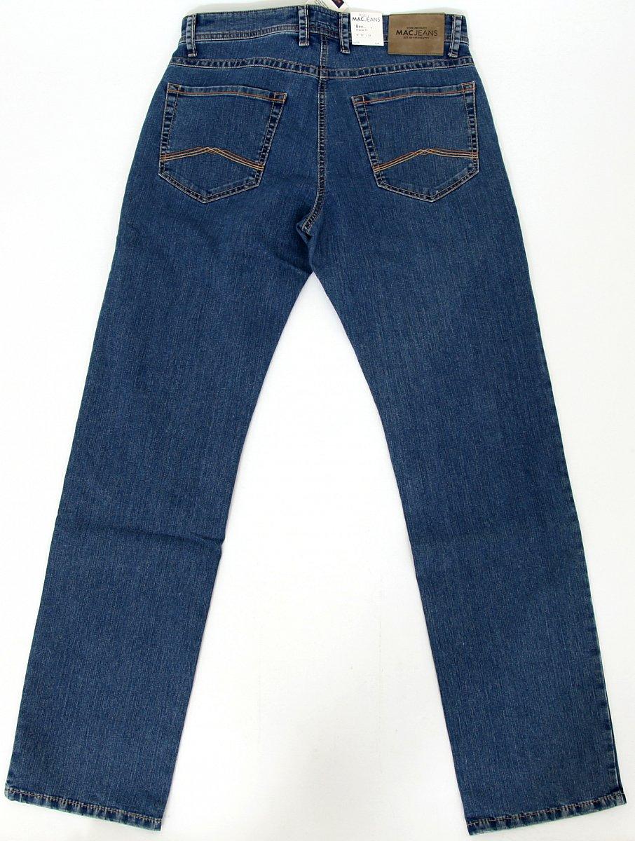 mac jeans herren hose lang men pants ben stretch w33 l34 079941 h501 neu new ebay. Black Bedroom Furniture Sets. Home Design Ideas