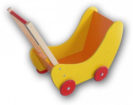 puppenwagen aus holz von hess holzspielzeug + made in germany +,