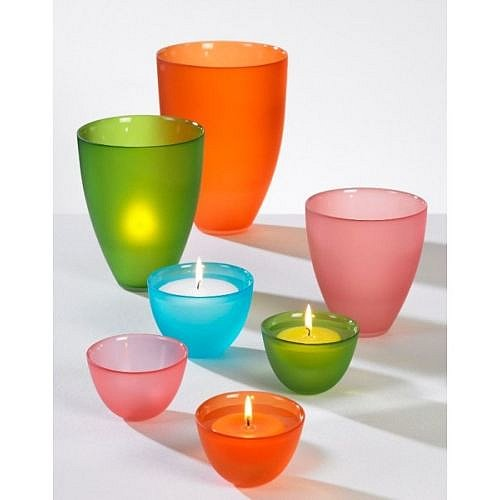 Teelichthalter kerzenst nder teelichter teelichtgl ser for Teelichthalter glas bunt