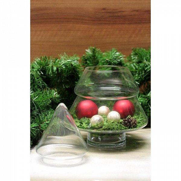 tannenbaum bonbonglas vorratsglas vorratsgl ser geb ckdose keksdose glas top ebay. Black Bedroom Furniture Sets. Home Design Ideas