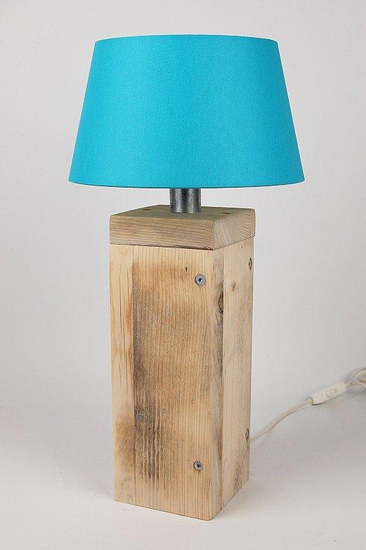 landhaus tischlampe sylt maritim holz vintage shabby tischleuchte lampe leuchte ebay. Black Bedroom Furniture Sets. Home Design Ideas