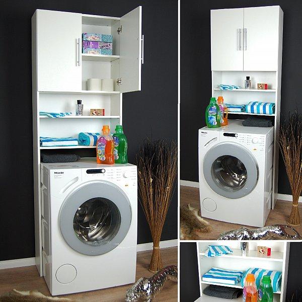 waschmaschinenschrank waschmaschinen schrank badm bel regal badregal neu ebay. Black Bedroom Furniture Sets. Home Design Ideas