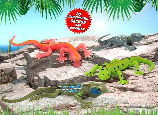 deagostini gecko und co eidechse tokeh geckos echse salamander agame leguan neu ebay. Black Bedroom Furniture Sets. Home Design Ideas