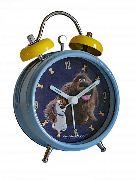pets kinderwecker wecker uhr alarm clock metall lernwecker. Black Bedroom Furniture Sets. Home Design Ideas