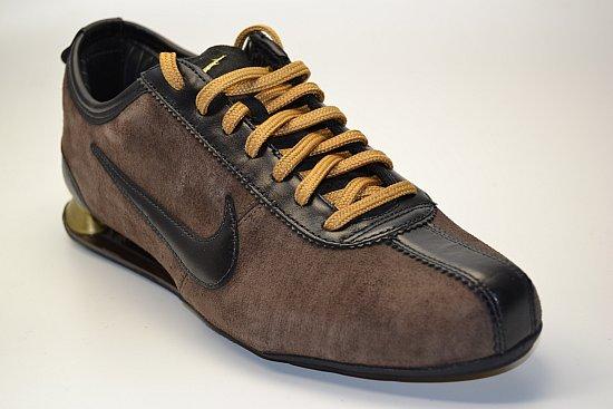 Nike Shox Rivalry Braun Gold
