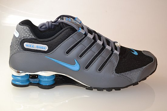 Nike Shox Blau