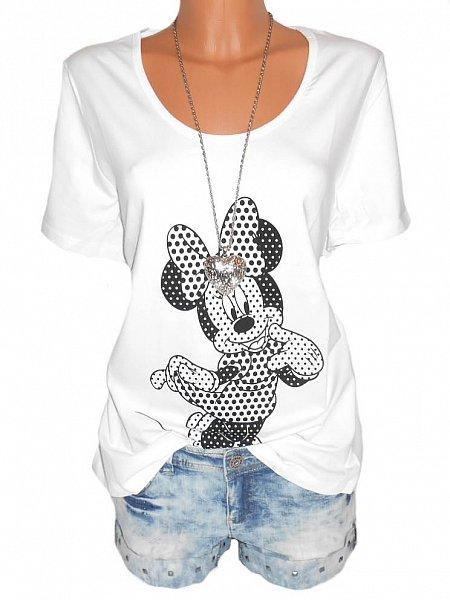 disney damen shirt minnie mouse gr 40 42 44 46 48 50 52. Black Bedroom Furniture Sets. Home Design Ideas