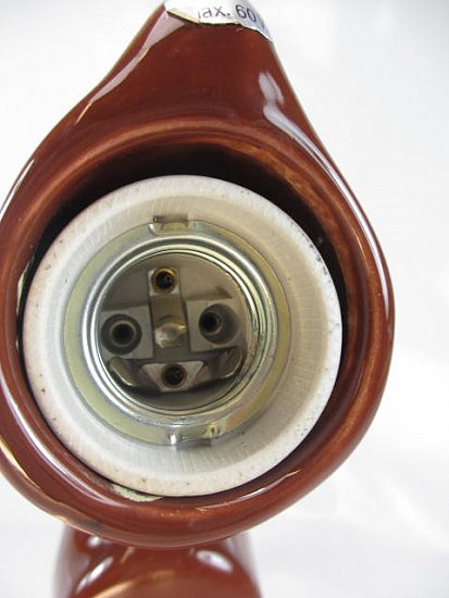 70ER Jahre XXL Keramik Wasserhahn Designer Wandlampe 220V  ~ Wasserhahn Jrg