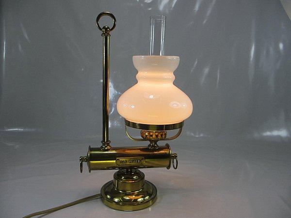messing tischlampe schiffslampe old river maritime. Black Bedroom Furniture Sets. Home Design Ideas