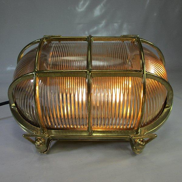 xxxl schiffslampe schildkr te 2 8kg maschinenraum lampe messing kaj ten lampe ebay. Black Bedroom Furniture Sets. Home Design Ideas