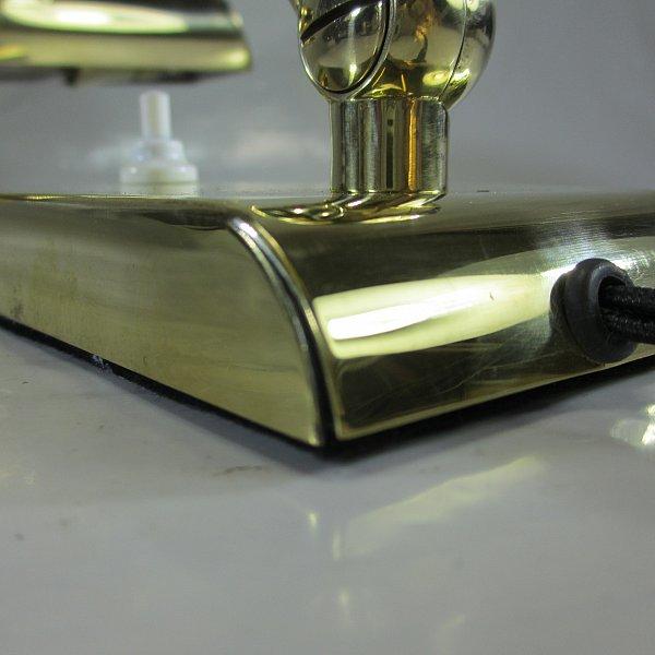 40er jahre messing klavierlampe antik piano lampe art deco for Lampen 40er jahre