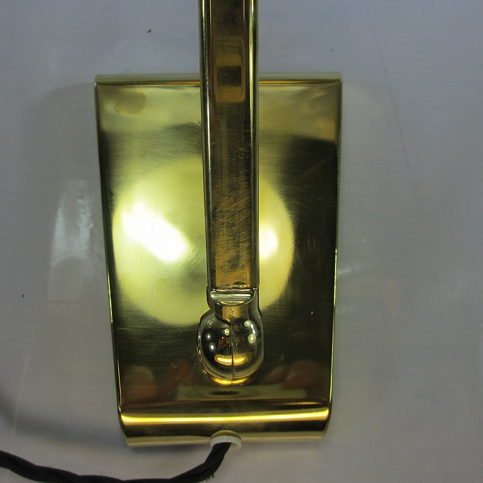 Messing klavierlampe antik piano lampe art deco for Lampen 40er jahre
