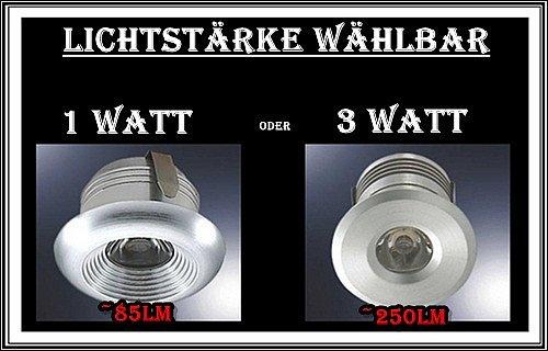 Details about SET LED-Beleuchtun g für den WINTERGARTEN Spot Minispot ...