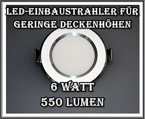 led einbaustrahler minispot einbauleuchte spot mini einbau set 1w 3w 6w trafo ebay. Black Bedroom Furniture Sets. Home Design Ideas
