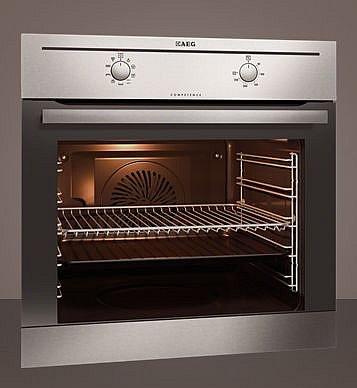 neu aeg backofen autark be 3000021m edelstahl mit 74. Black Bedroom Furniture Sets. Home Design Ideas