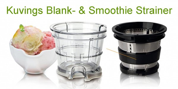 Kuvings B 6000 Silber Whole Slow Juicer + Smoothie Strainer + Rezepte eBay