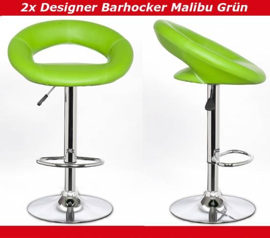 Barhocker Grün 2x designer barhocker barstuhl tresenhocker hocker mit lehne