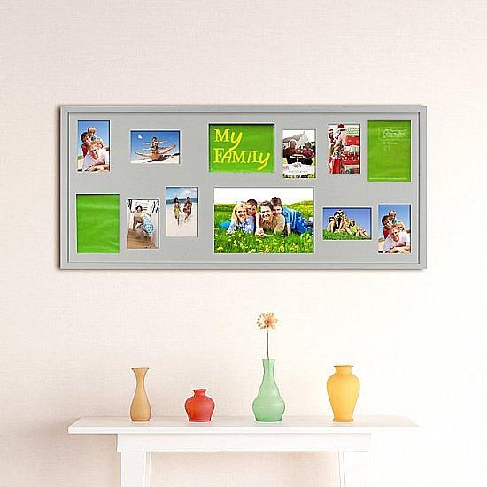 rahmen bilderrahmen fotorahmen holz 12 fotos collage. Black Bedroom Furniture Sets. Home Design Ideas