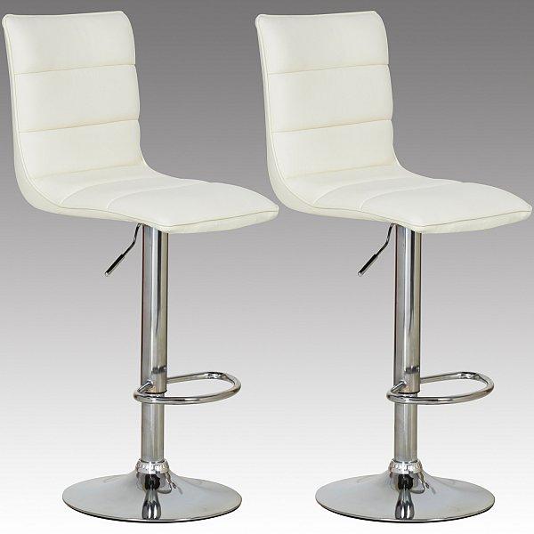 Barstuhl barhocker 2x tresenhocker kunstleder stuhl for Barhocker 86 cm