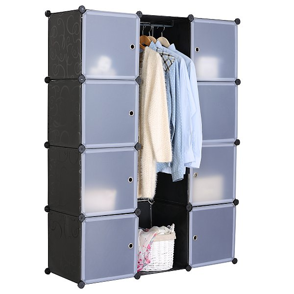 kleiderschrank plastik schrank ritsch ratsch online kaufen m belix. Black Bedroom Furniture Sets. Home Design Ideas