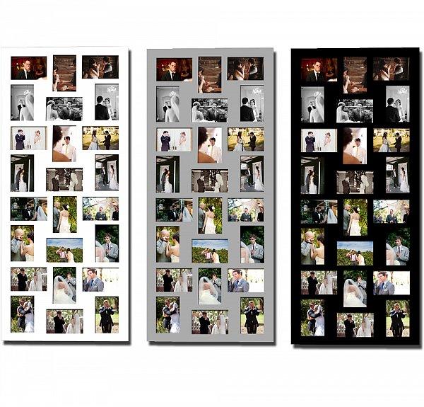 bilderrahmen fotorahmen fotogalerie bildergalerie portraitrahmen 3d collage 55 ebay. Black Bedroom Furniture Sets. Home Design Ideas