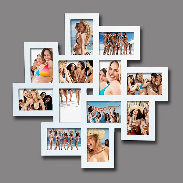 bilderrahmen fotogalerie 6 8 10 12 bilder holz rahmen bildergelarie collage 91 ebay. Black Bedroom Furniture Sets. Home Design Ideas