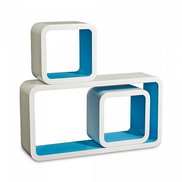 wandregal 3er set b cheregal h ngeregal cube cd regal mdf. Black Bedroom Furniture Sets. Home Design Ideas