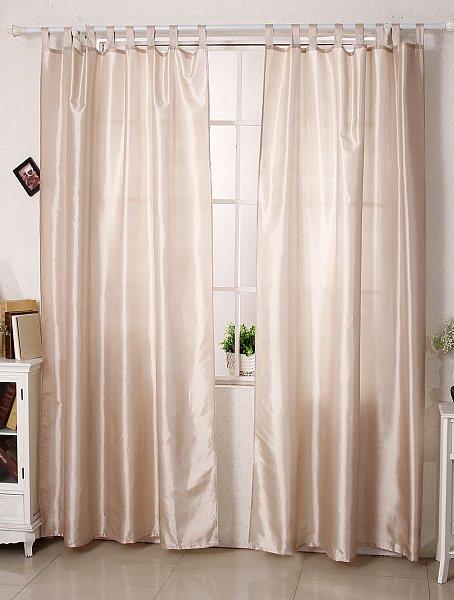 gardine schlaufenschal vorhang farbwahl 140x245cm halbtransparent fenster 143 ebay. Black Bedroom Furniture Sets. Home Design Ideas