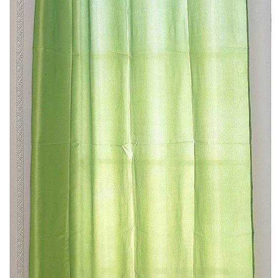 gardine senschal halbtransparent fensterschal vorh nge 1st ck 140x245cm 125 ebay. Black Bedroom Furniture Sets. Home Design Ideas